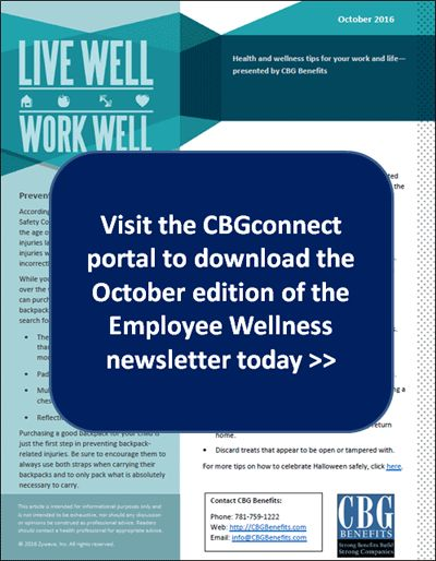 Employee Wellness Newsletter For October  Halloween Safety