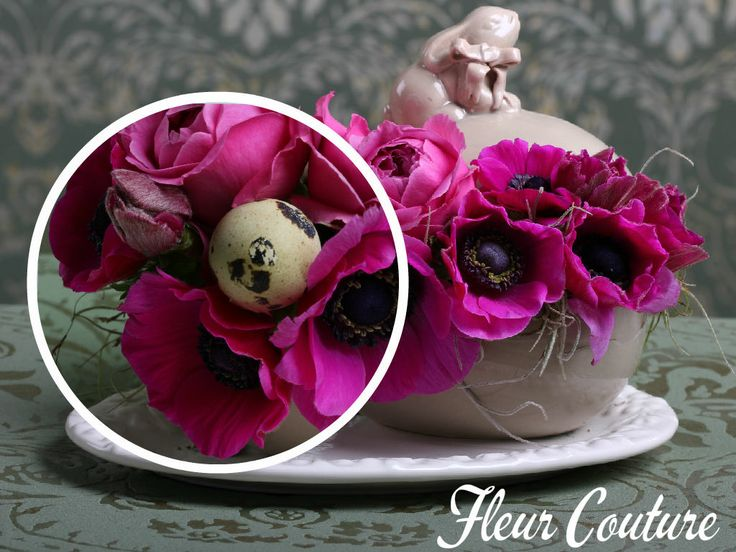 Delicate Easter Bunny Arrangement..The perfect gift for your mother, sister,lover or friend.