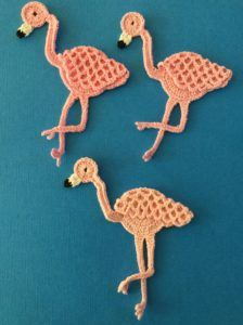 Get this free Flamingo Crochet Pattern.