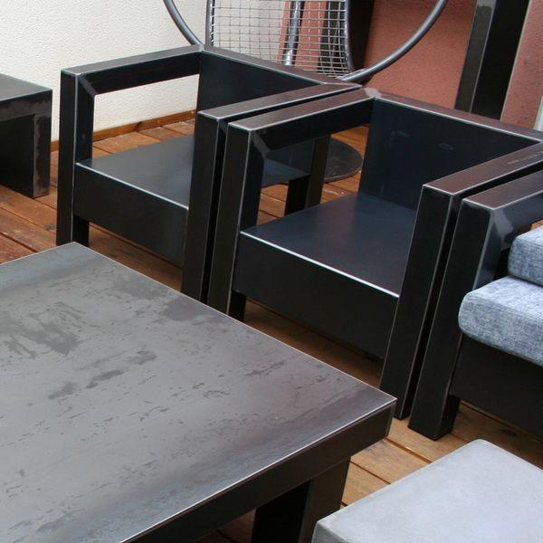 Fauteuil Metal Fabrication Francaise Fauteuil Metal Mobilier Design Fauteuil Design