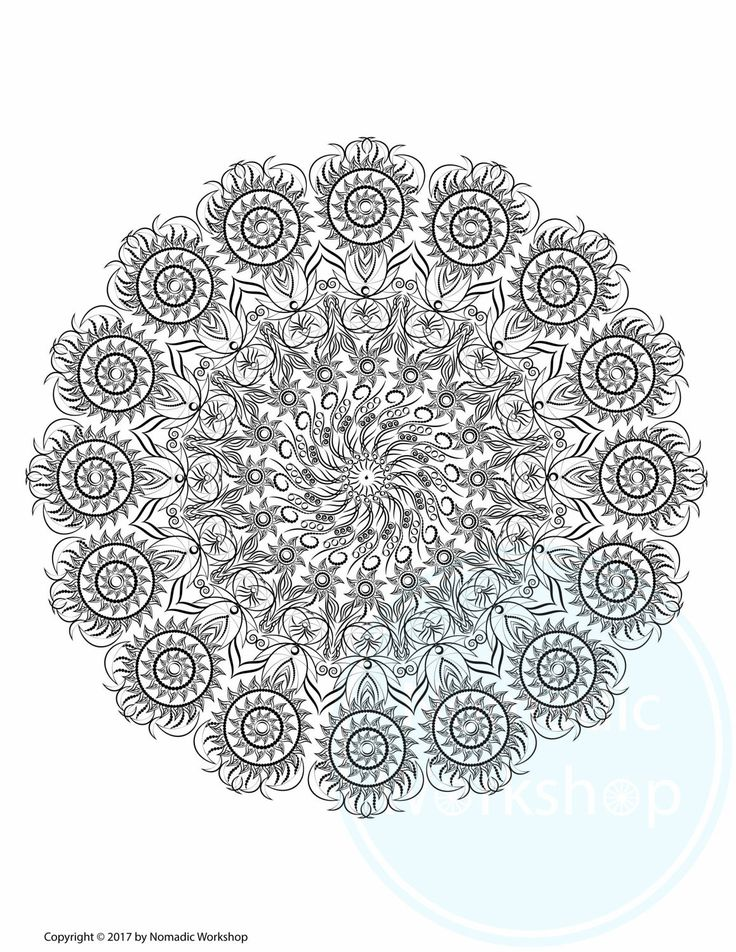 free coloring page coloring for adults digital prints illustration coloring for grownups art therapy color therapy stress relief by nomadicworkshop on