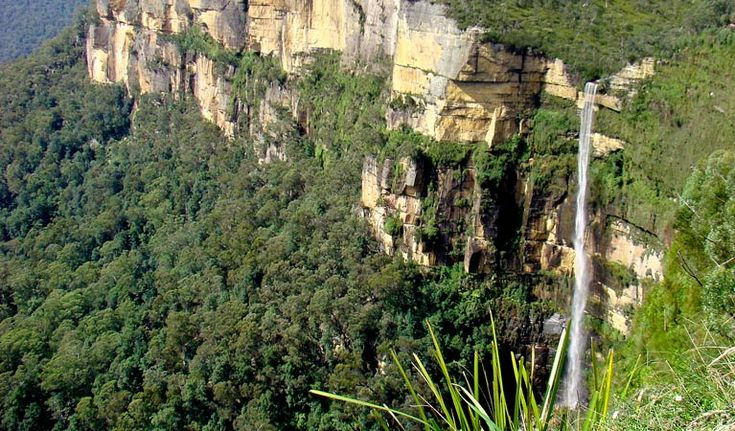 Govetts Leap Waterfall, Cliff Top Track, Blue Mountains National Park. Photo: Steve Alton/NSW Government