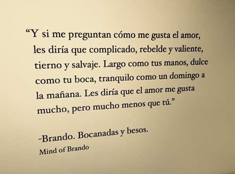 Así me gusta el amor...