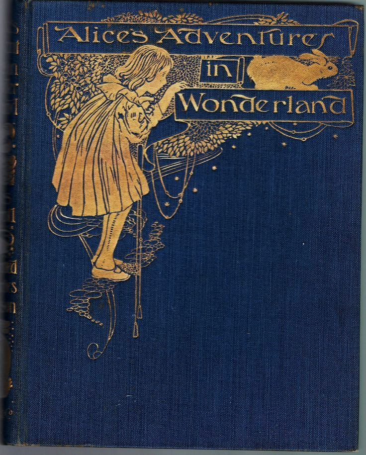 Alice in Wonderland Front Cover, Charles Robinson