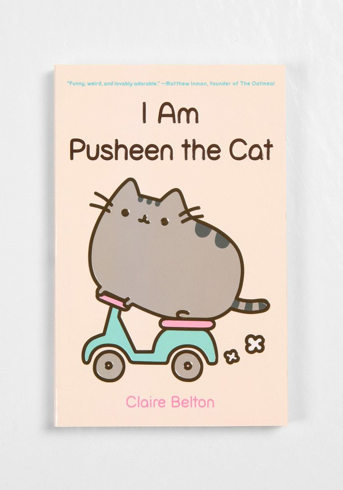 Who is Pusheen? This collection of oh-so-cute kitty comics, featuring the chubby tubby tabby who has taken the Internet by storm, will fill you in on all the basics. Pusheen is a pleasantly plump cat