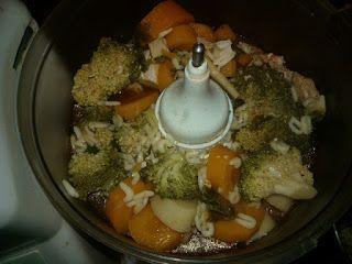 Ania mama Agnieszki: zupa pomidorowa z makaronem po 10 m-cu
