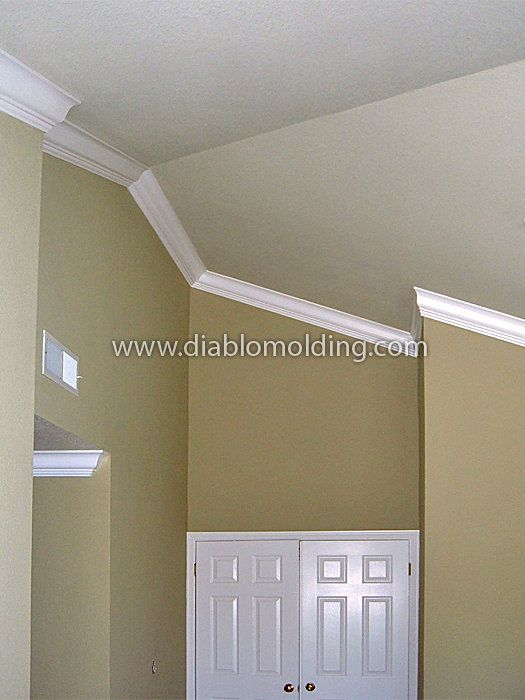 8 best Moulding on sloped ceiling images on Pinterest ...