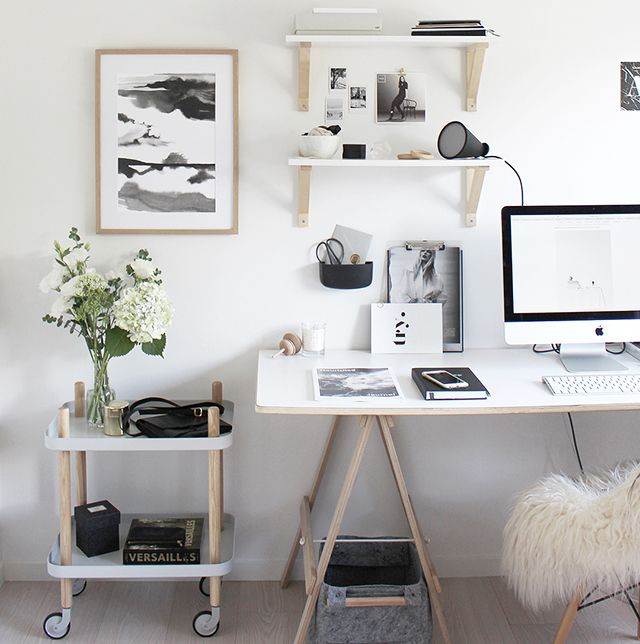 25 best ideas about scandinavian office on pinterest for Chambre instagram