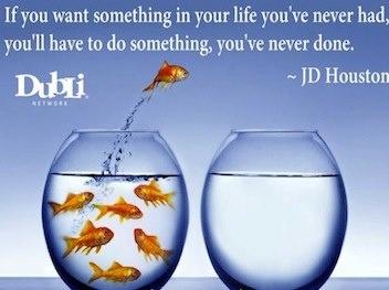 Wann hast Du zum letzten mal etwas ganz Neues in deinem Leben getan?