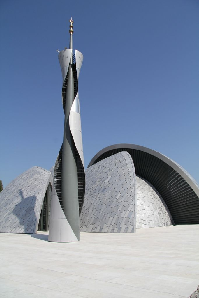Islamic Center Rijeka - Croatia Designed not by an architect but by a sculptor.   #MashaAllah #Mosque