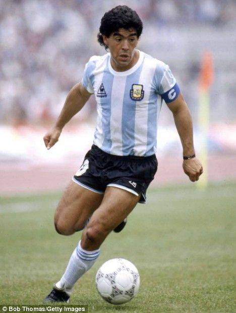 #2 - Diego Maradona, Argentina