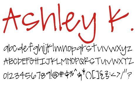 free downloadable fonts...they have cyrillic font too!! <3