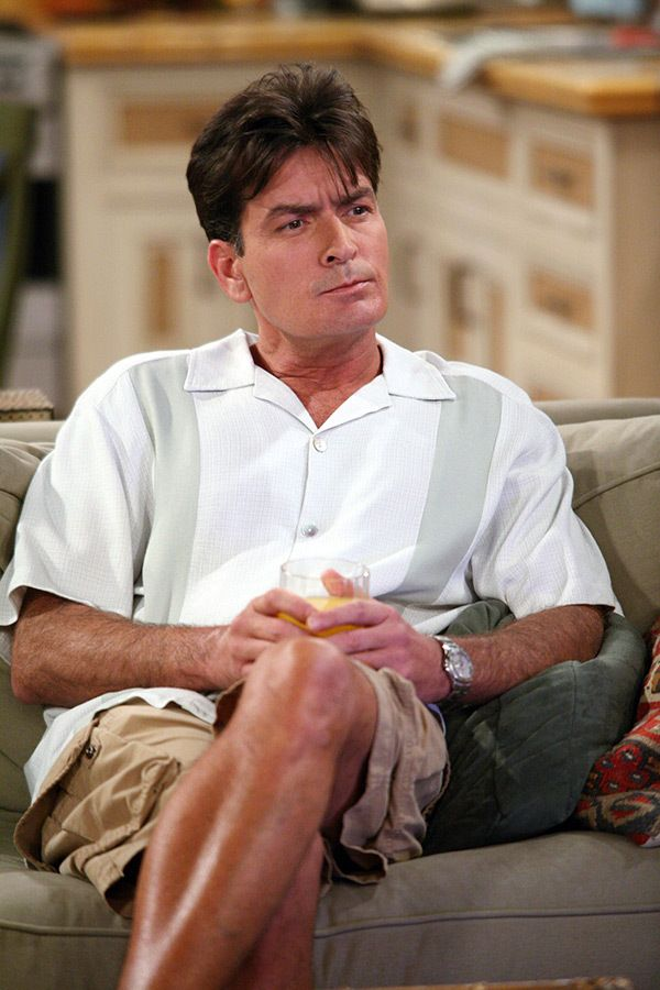Charlie Sheen a 'Two and a Half Men'.  (Kép jóvoltából CBS)