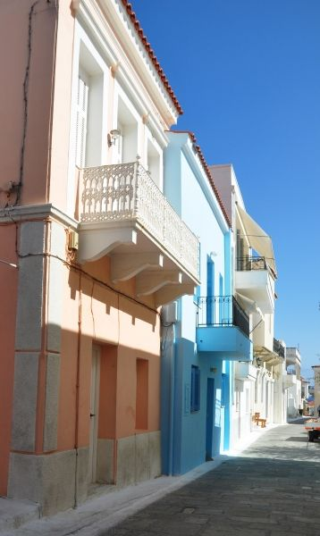 Mansions in Chora