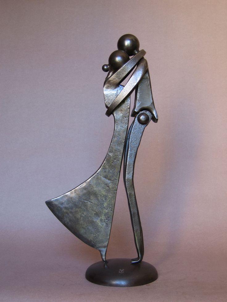 Couples - Jean-Pierre Augier Sculpteur