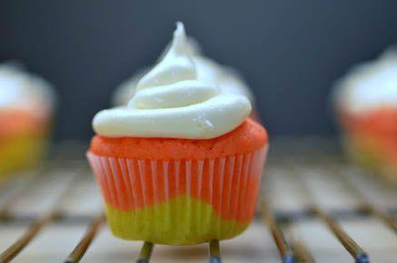 Candy Corn Cupcakes1