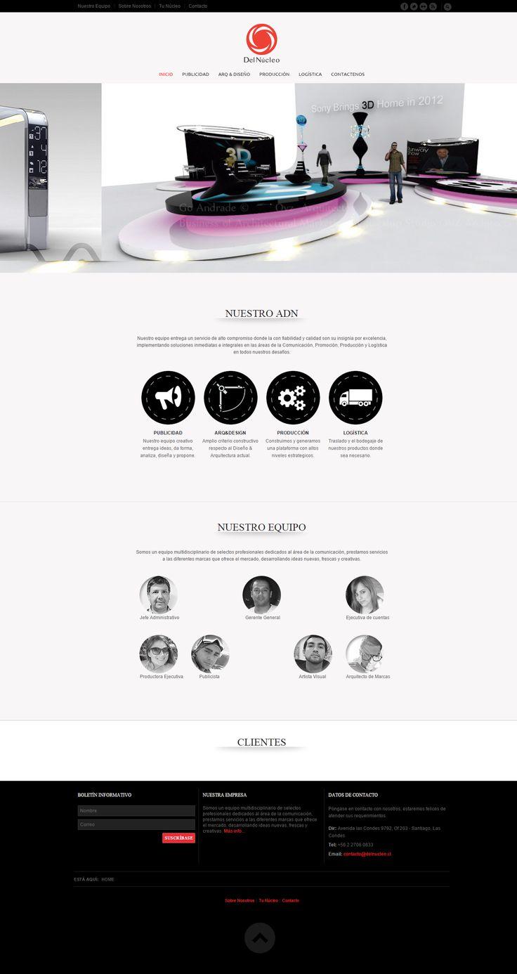 Agencia de publicidad y promociones. www.delnucleo.cl