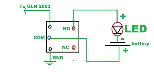 Each Consists Of Seven Npn Darlington Pairs That Feature High Voltage Outputs With Common Cathode Clamp Diodes F Home Appliances Arduino Home Automation System