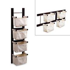 great idea: Bedbathandbeyond As, Bedbathandbeyond Com, Magazines Racks, Canvas Baskets, Magazine Racks, Espresso Magazines, Kid, Canvases, Toys Storage