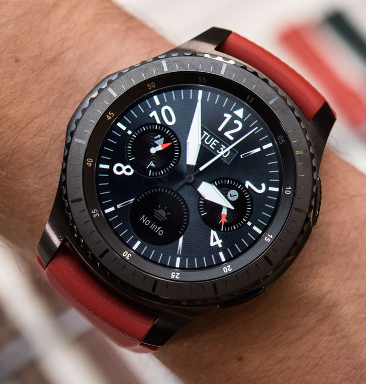 """Samsung Gear S3 Frontier & Classic Smartwatch Hands-On Debut - pictures, video, & all you want to know on aBlogtoWatch.com """"Today in Berlin, prior to the electronics trade show IFA, Samsung releases their newest smartwatch and the seventh such device in their collection with the Samsung Gear S3 - and this time around, I'm actually helping +Samsung Mobile to launch it by being part of their Unpacked event..."""""""