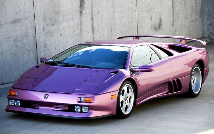 The Lamborghini Diablotook four years to craft and its first model was showcased in January 1990. Description from nicecarsinfo.com. I searched for this on bing.com/images