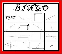 FREE Geometry BINGO!