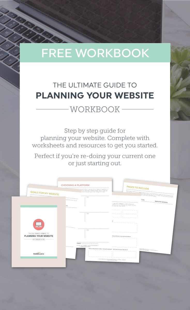 Planning your website (whether it's your first or just a spruce up) is so overwhelming. Where do you start? The copy, images or design? Should you switch platforms, or stick with what you've got?  Today I've got you covered with the ultimate guide to planning your website (with a free workbook to help you out). There is a ton of work that goes into setting up a website. Today we're going step by step through all the areas you need to consider when planning yours.