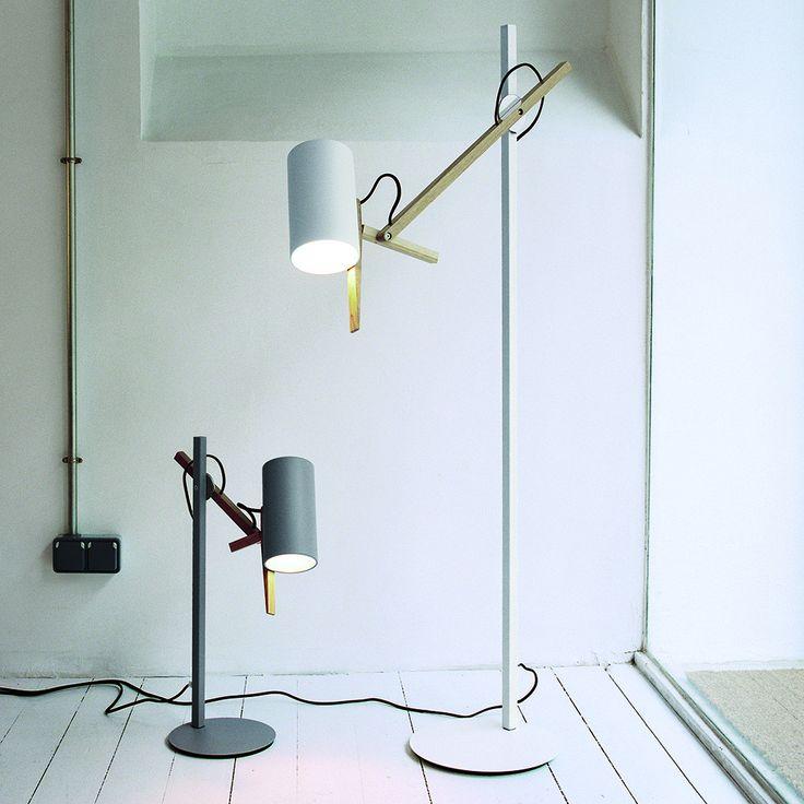 Modern Wooden Floor Lamp (LB-10097) - светильник, торшер для прямого яркого освещения. Напольный, настольный светильник. Лампа. Дизайнерский свет.
