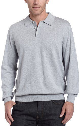 Industries Needs — Joseph Abboud Mens Long Sleeve Polo Sweater...