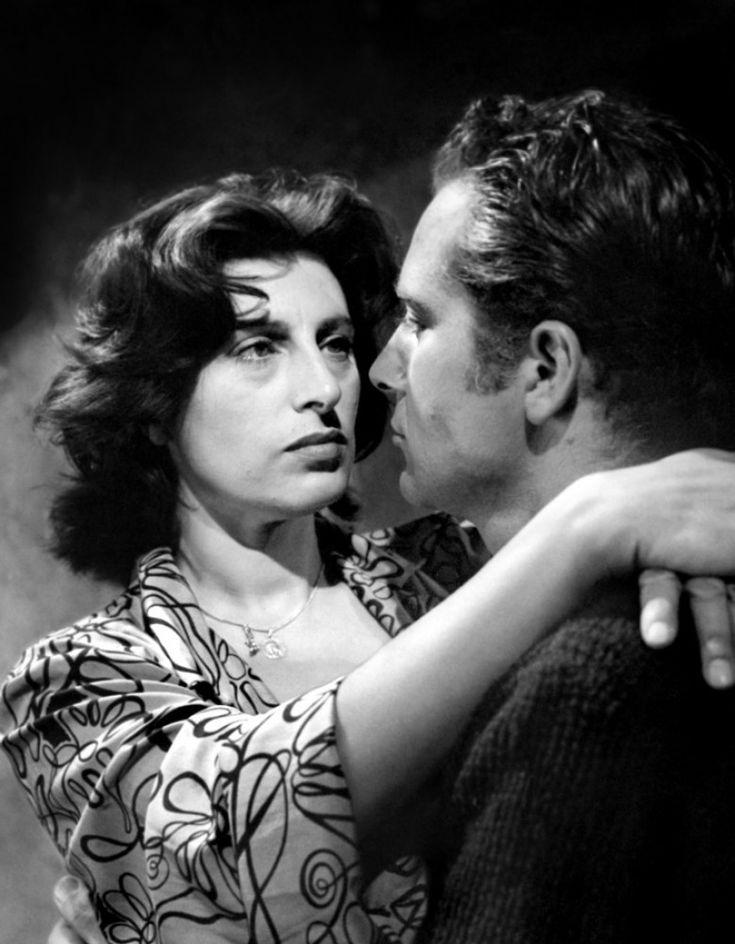 """Anna Magnani & Rossano Brazzi. """"Vulcano"""""""