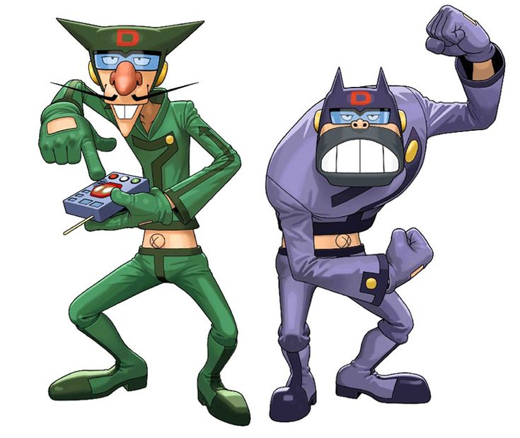 Boyacky & Tonzra from Tatsunoko vs. Capcom: Ultimate All-Stars