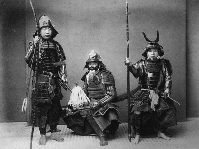 Photograph of Samurai Warriors, Kusakabe Kimbei c.1880: History, Photos, Japanese Samurai, Samurai Warriors, Photography, Martial Arts