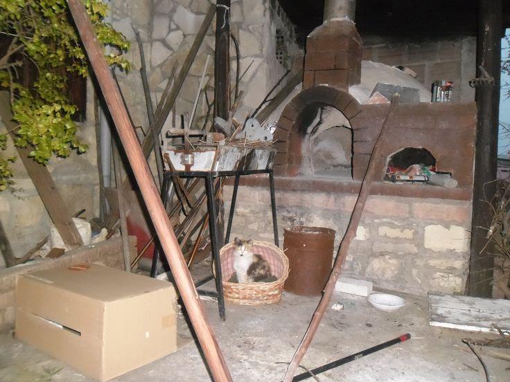 Παραδοσιακή ζωή- Παραδοσιακος φούρνος-Βάσα