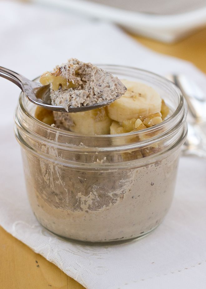 Banana Chia Seed Breakfast Custards {Dairy-Free, Paleo} | Meaningful Eats