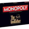 Monopoly the Godfather Edition. In 1970 this game was created. Monopoly is a famous game played by many people. This game was around for a while.