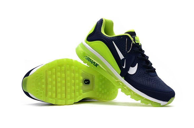 Nike Air Max 2017.5 Sport Running Shoes Men Navy Green