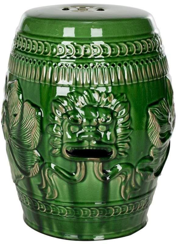 World Menagerie Ellison Ceramic Garden Stool Ceramic