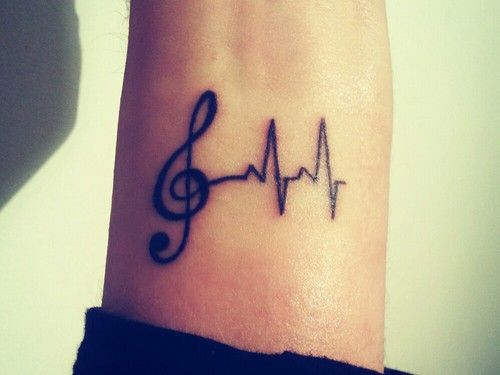 Music Symbol Tattoo Girly Ink Tattoos Pinterest Music Symbols Symbol Tattoos And Tattoo