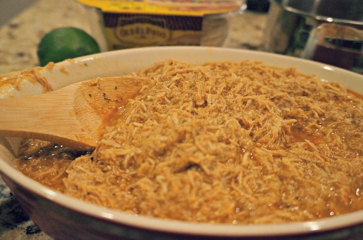Taco Ranch Shredded Chicken