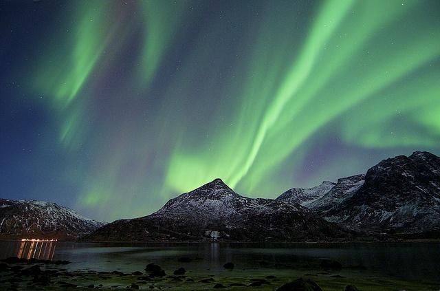 Norway Northern Lights 300112 0343_1, via Flickr.