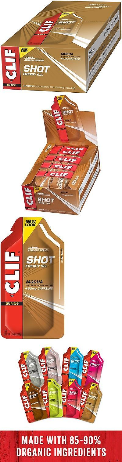 Energy Bars Shakes and Drinks: Clif Shot - Energy Gel - Mocha - With Caffeine (1.2 Ounce Packet 24 Count) -> BUY IT NOW ONLY: $128.02 on eBay!