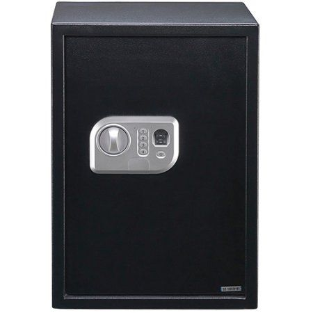 Stack-On Extra Large Biometric Safe with Biometric Lock PS-20-B Black