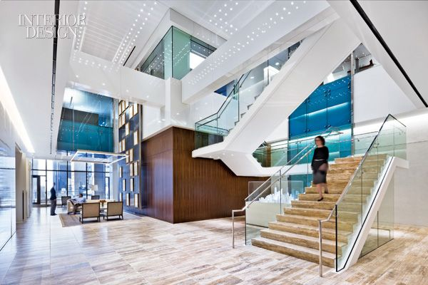 CBRE Group for 200 Park Avenue South, New York, from interiordesign.net