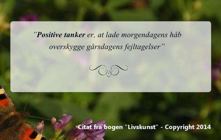 Citat om Positive tanker