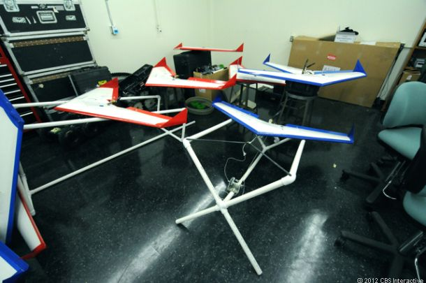 Drone dogfights by 2015? U.S. Navy preps for futuristic combat. CNET Road Trip 2012 reports.