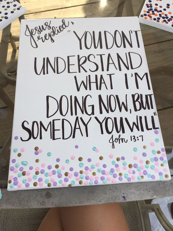 60 Inspirational Canvas Painting Ideas with Quotes