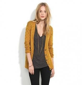 15+ Trendy How To Wear Yellow Cardigan Mustard Sweater