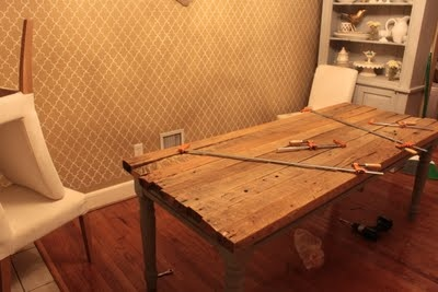 Dining Table Reclaimed Wood Dining Table Diy