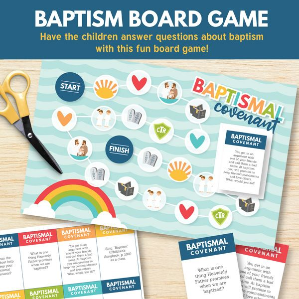 how to teach kids about baptism