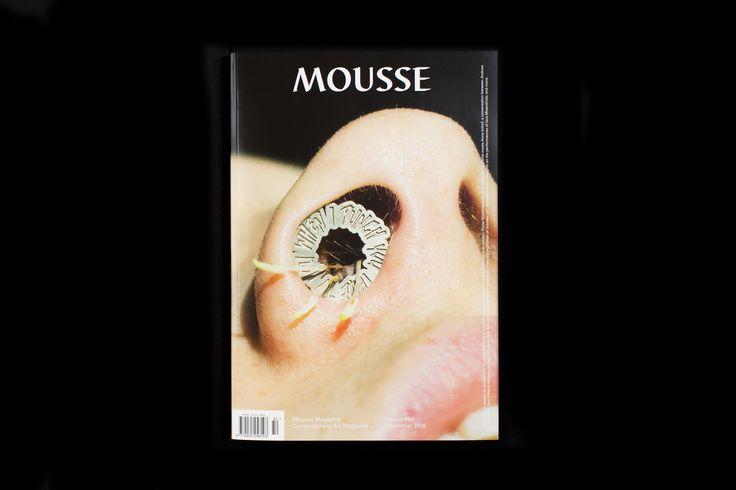 Mousse Magazine 54 ~ #moussemagazine #contemporaryart #art #magazine